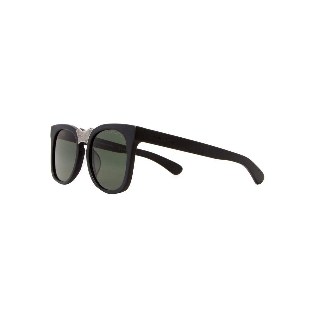 acf7cbd2b6375 Óculos de Sol Calvin Klein 1850S Preto e Prata - Shopping Cidade Jardim