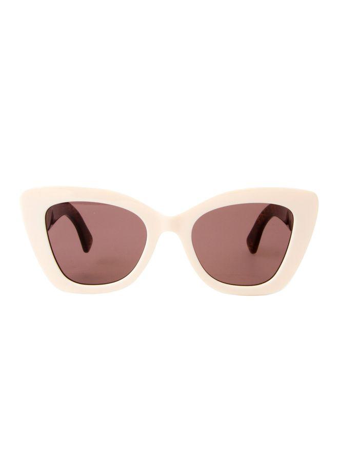 Oculos-de-Sol-Fendi-0327S-Off-White-e-Estampado-Marrom