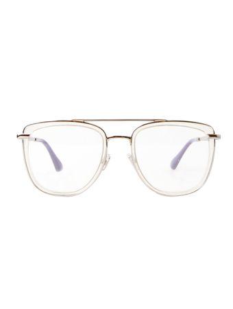Armacao-de-Oculos-Jimmy-Choo-219-Tranparente-e-Prata