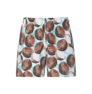 Shorts-Coco-Estampado-Marrom