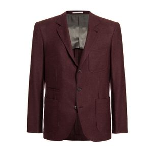 Blazer-Single-Breasted-de-Cashmere-Vinho