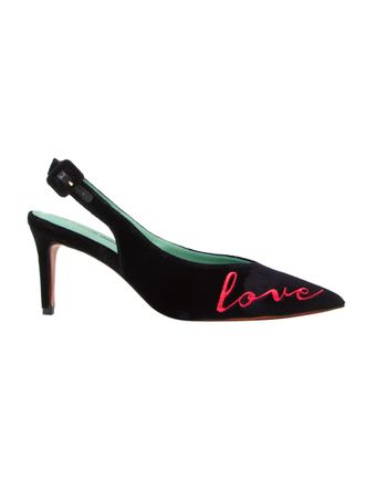 SLING-BACK-LOVE-KILLS-VELUDO-PRETO