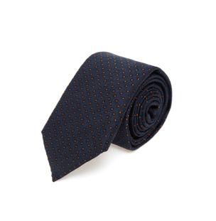 Gravata-de-Seda-Azul