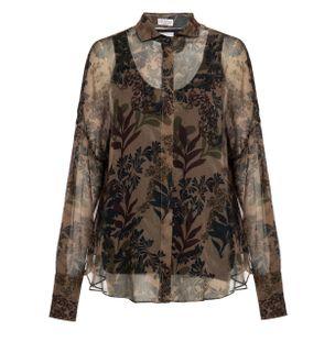 Camisa-de-Seda-Marrom