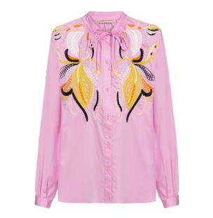 Camisa-Manga-Longa-de-Algodao-Rosa