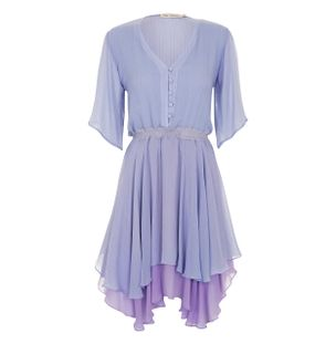 Vestido-Mini-Babado-de-Seda-Lilas