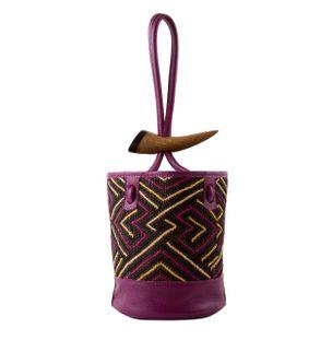 Bolsa-Mini-Saskia-Africa-Texturizada-de-Couro-Roxa