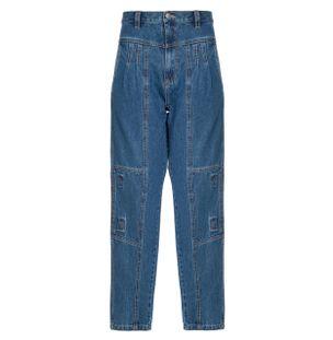 Calca-Jeans-Recortes-de-Algodao-Azul
