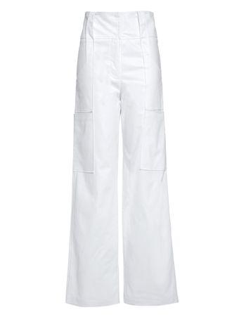 Calca-Pantalona-Bolsos-de-Algodao-Branca