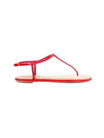 Sandalia-Satin-Rope-Vermelha