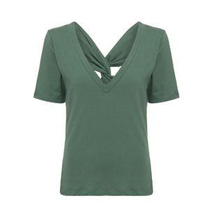 Blusa-Decote-V-Verde