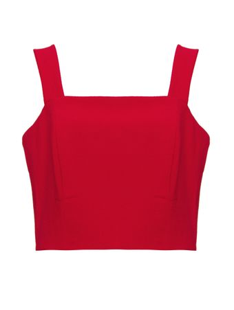 Blusa-Cropped-Chanty-Vermelha