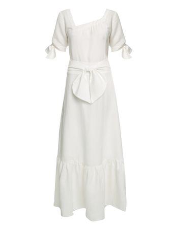 Vestido-Midi-Decote-Quadrado-de-Linho-Off-White