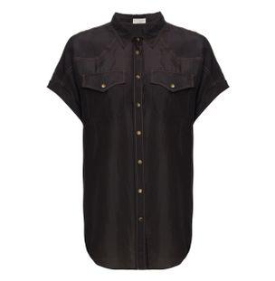 Camisa-Seda-Preta