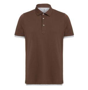Camiseta-Polo-Marrom
