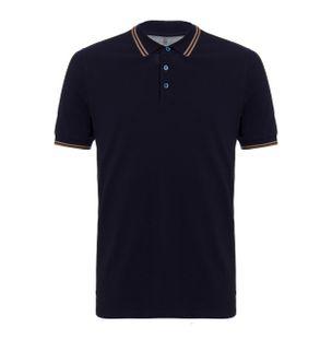 Camiseta-Polo-Azul-Marinho