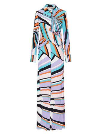 Vestido-Maxi-Manga-Longa-Estampado-Azul