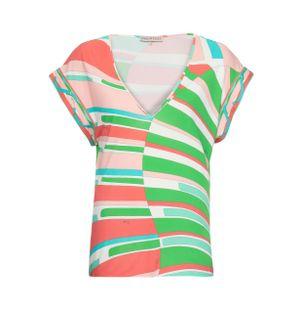 Blusa-Manga-Curta-Estampada-Verde