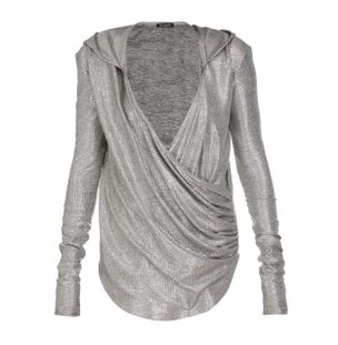 BLUSA-HOODED-LAMINATED-KNIT-WRAP-TOP-9UA-OLD-SILVER