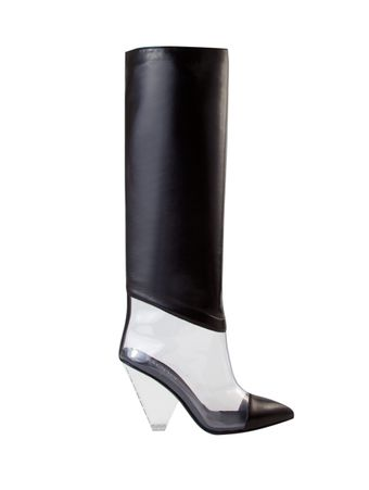 Bota-Boot-Lisy-Leather-Pvc-0Pa-Black