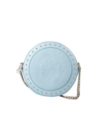 Bolsa-Disco-Calfskin-de-Couro-Azul