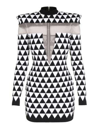 Vestido-Curto-Short-New-Shoulder-Pyramid-Eab-Black-White