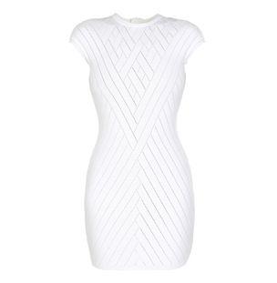 Vestido-Curto-Short-Ss-V-Effect-Knit-Dre-0Fb-White-Optique
