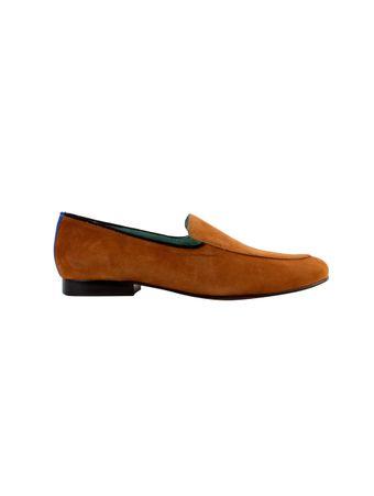Loafer-Penny-de-Camurca-Marrom