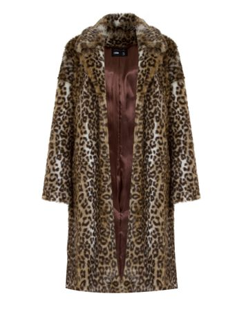 CASACO-TRENCH-COAT-PELUCIA-LEOPARDO-ONCA-MARROM-TWO-DENIM