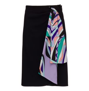 SAIA-CURTA-SKIRT-NERO