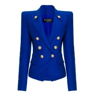 BLAZER-4-BTN-PEAK-LAPEL-COTTON-JACKET-6UF-BLUE-GITANE