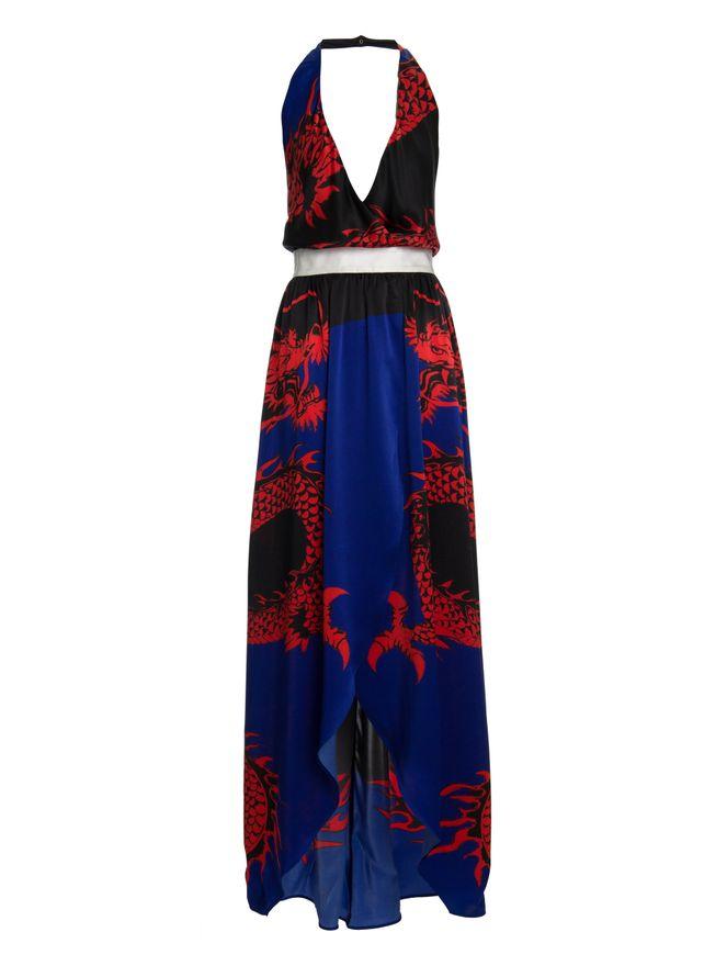 VESTIDO-DRESS-BLACK-RED-TAMANHO-XL