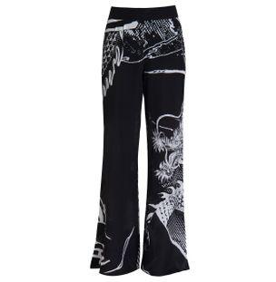 CALCA-LONG-PANTS-BLACK-WHITE-TAMANHO-XL
