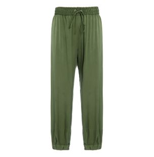 Calca-Reta-Elasticos-de-Seda-Verde
