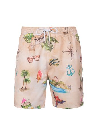 Shorts-Spiaggia-Areia