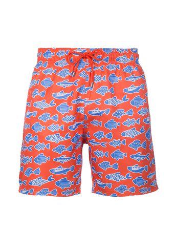 Shorts-Pesce-Azzurro-Laranja