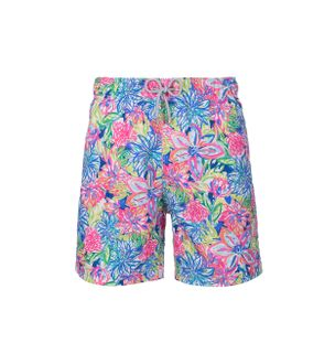 Shorts-Fiori-in-Neon-Estampado