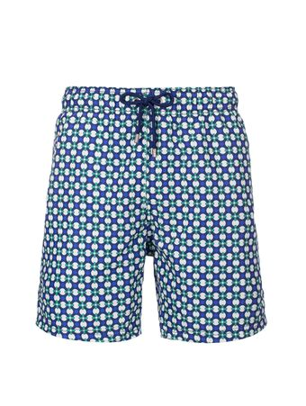 Shorts-Piastrelle-Estampado