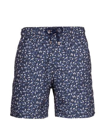 Shorts-Pesce-Nero-Azul-Marinho