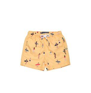 Shorts-Bambini-Giornata-Amarelo