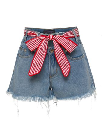 SHORTS-LIGHT-WASHED-HIGH-WAISTED-CUTOFF-DENIM-POL-CLOTHING
