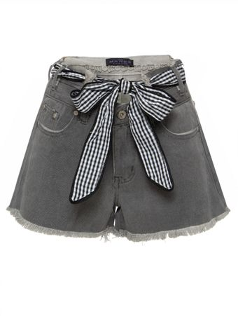 SHORTS-LIGHT-WASHED-HIGH-WAISTED-CUTOFF-GREY-DENIM-POL-CLOTHING