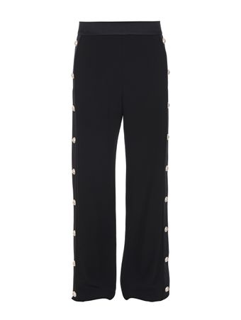 CALCA-CREPE-SIDE-BUTTON-SWEATPANTS-0PA-BLACK