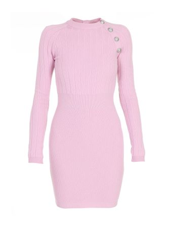 VESTIDO-SHORT-LS-STRETCH-WOOL-DRESS