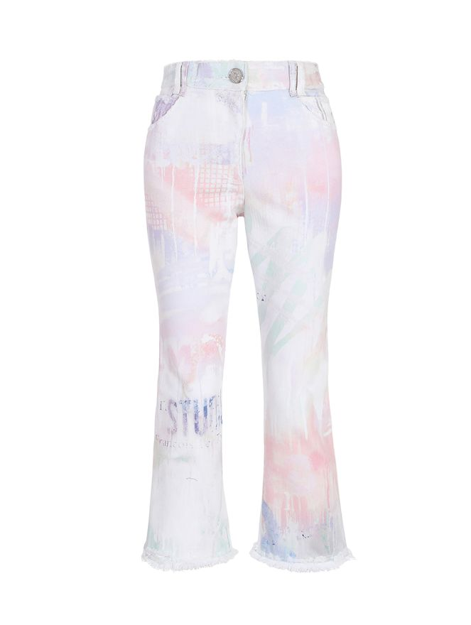 CALCA-CROPPED-PRINTED-FLARED-JEANS