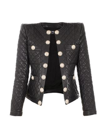 JAQUETA-COLLARLESS-QUILTED-LEATHER-JACKE-0PA-BLACK