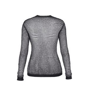 SUETER-PULL-MANCHES-LONGUES-EAC-BLACK-SILVER