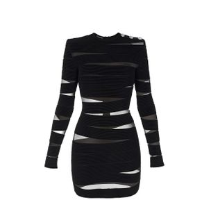 VESTIDO-ROBE-BODYCON-0PA-BLACK