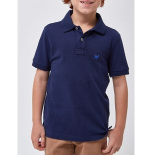POLO-LHAMA-STRETCH-BOYS-V20-MARINHO