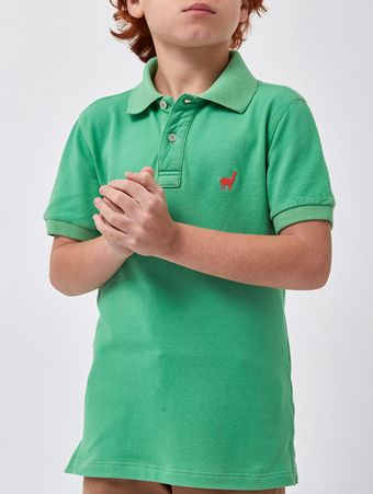 POLO-LHAMA-STRETCH-BOYS-V20-VERDE-MENTA